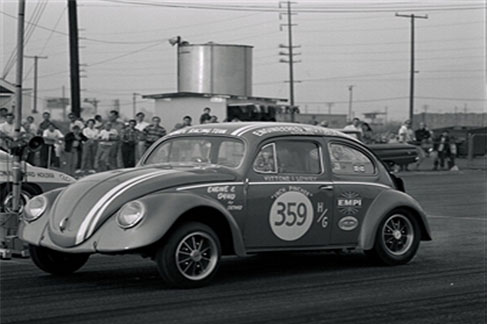 After Watching The Inch Pincher Race At Irwindale Sdway Bill Clarkson An Avid Car Builder Decided To Build A Drag Himself
