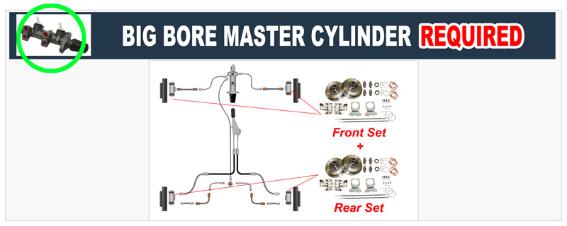 VW Dual Circut Master Cylinders, Dual Disk ke Systems-JBugs Jbugs Vw Alternator Wiring Diagram on