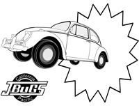 VW Kids- Coloring page 1