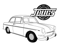 VW Kids- Type 3 Coloring Page
