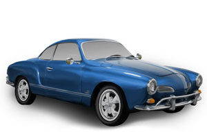VW Karmann Ghia Parts, Interiors, & Accessories