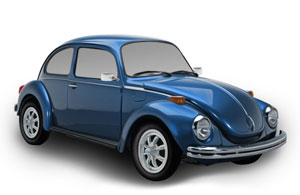 VW Super Beetle Parts, Interiors, & Accessories