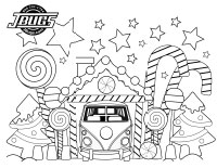 VW Kids- Gingerbread house garage