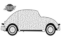 VW Kids- Maze VW Beetle