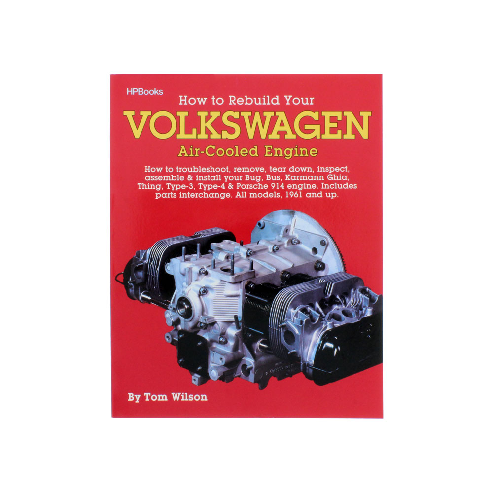 Vw Air Cooled Engine Codes List: How To Rebuild Volkswagen Air-Cooled Engine Manual: VW