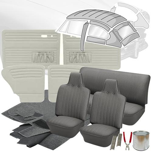 Deluxe tweed cloth vw interior kit super beetle sedan 1971 1972 vw deluxe tweed cloth vw interior kit super beetle sedan 1971 1972 freerunsca Image collections