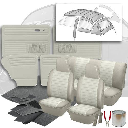 Deluxe 12 Inch Seat Insert Vw Interior Kit Super Beetle