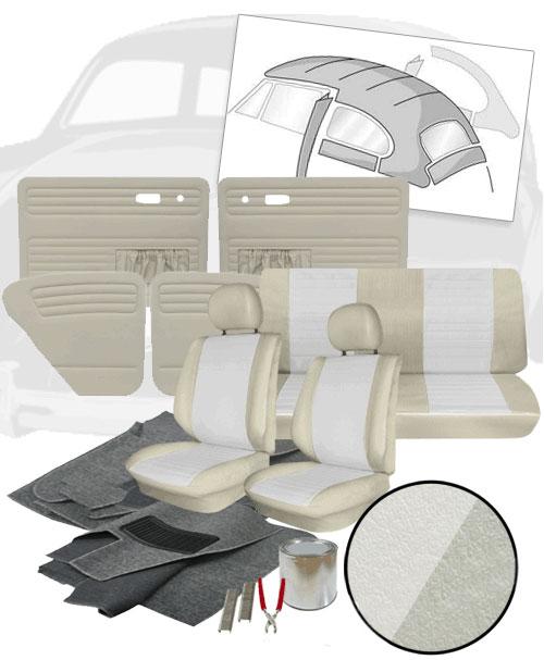 Deluxe 12 Inch Seat Insert Vw Interior Kit Beetle Sedan 1977 Vw Parts