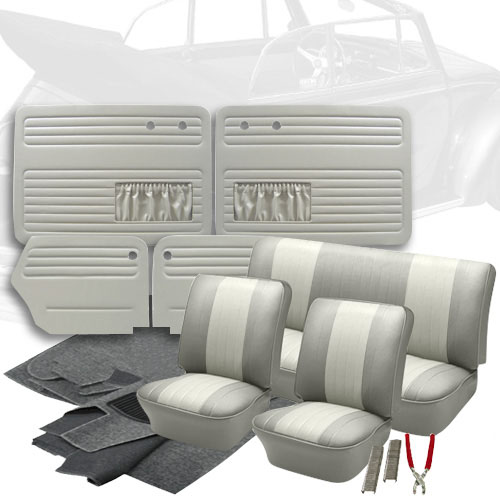Deluxe 12 Inch Seat Insert Vw Interior Kit Beetle