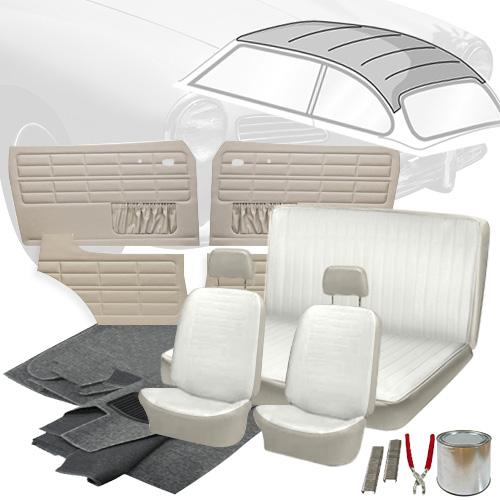 Deluxe Full Insert Vw Interior Kit Karmann Ghia Coupe