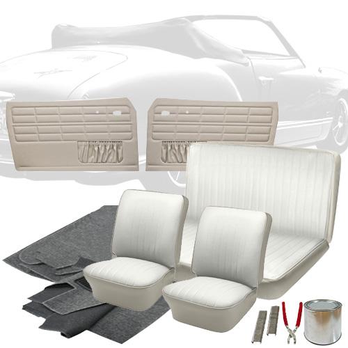 Deluxe Full Insert Vw Interior Kit Karmann Ghia Convertible 1964 Vw Parts