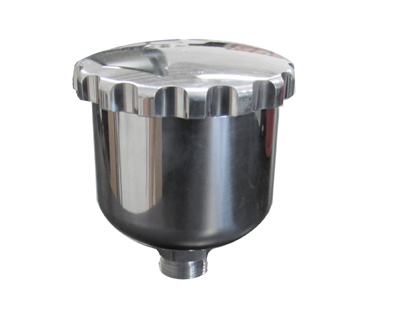 Polished Aluminum Master Cylinder Reservoir Only w/ Cap