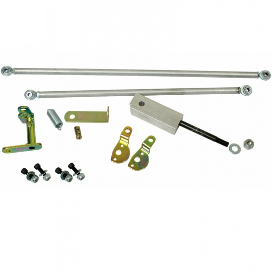 EMPI Universal VW Type 1 Dual Carburetor Twist Style Linkage Kit