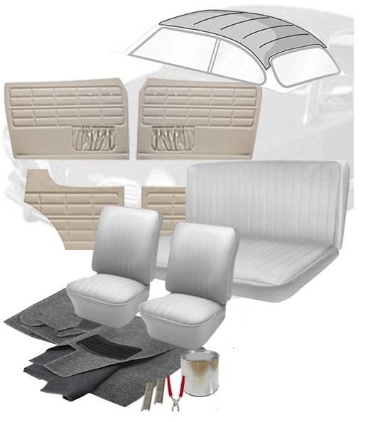 Vw Bug Sunroof Headliner: 1962 VW Karmann Ghia Interior Kits