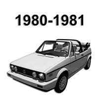Vw Convertible Top Parts 1980 1981 Rabbit