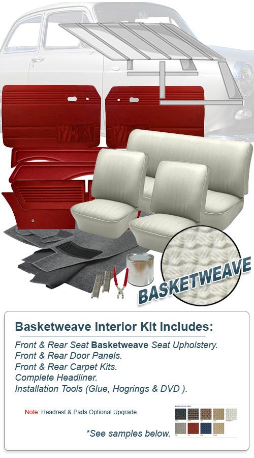 vw squareback complete interior kits jbugs