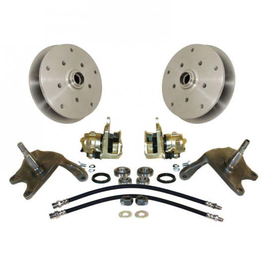 EMPI VW Drop Spindle Front 5x205 Wide 5 Disc Brake Conversion Kit, Beetle &  Ghia 1954-65