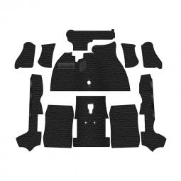 Fits: 2DR Flat Front Cutpile 1974-1979 Volkswagen Beetle Carpet Replacement Complete Convertible