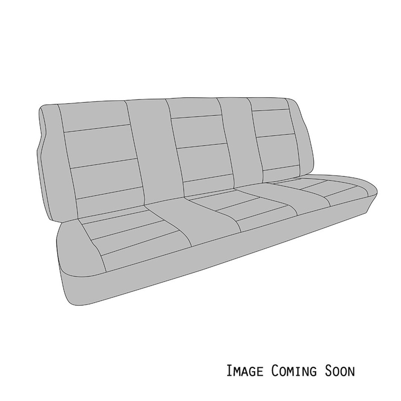 VW Rear Bench Seat Upholstery, With Fold Down Armrests