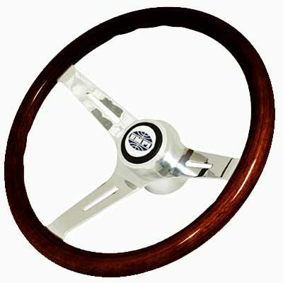 empi classic dark wood fat grip steering wheel kit. Black Bedroom Furniture Sets. Home Design Ideas