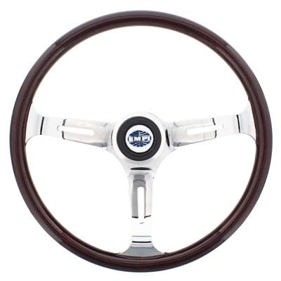 empi classic dark wood steering wheel kit includes. Black Bedroom Furniture Sets. Home Design Ideas