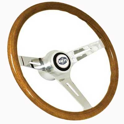 Empi Classic Light Wood Steering Wheel Kit 79 4028