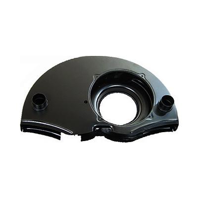 VW Fan Shroud, 36HP Doghouse Shroud, w/ Ducts, Black