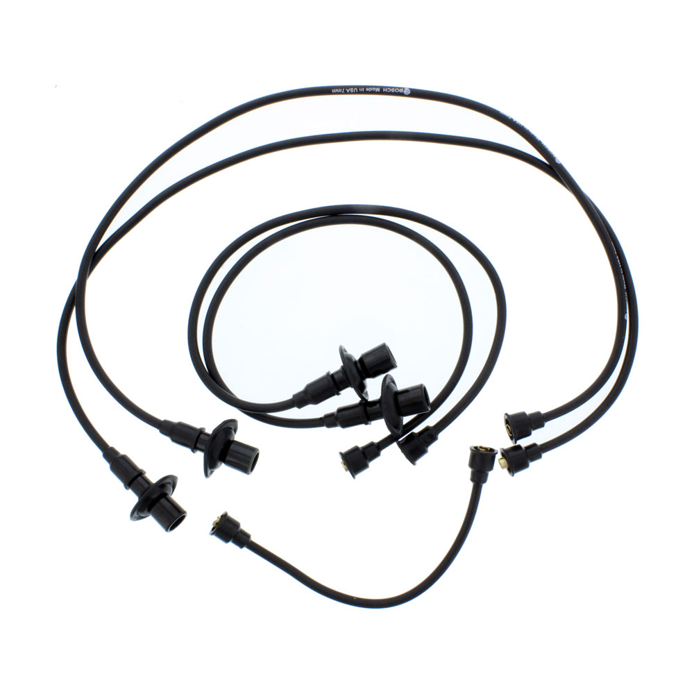 Bosch VW Spark Plug Wires, Beetle, Super, Ghia, Thing 1954-79, Bus ...