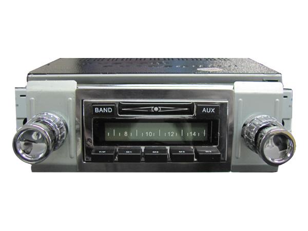 vw custom auto sound radio w auxiliary input vw bus 1949. Black Bedroom Furniture Sets. Home Design Ideas
