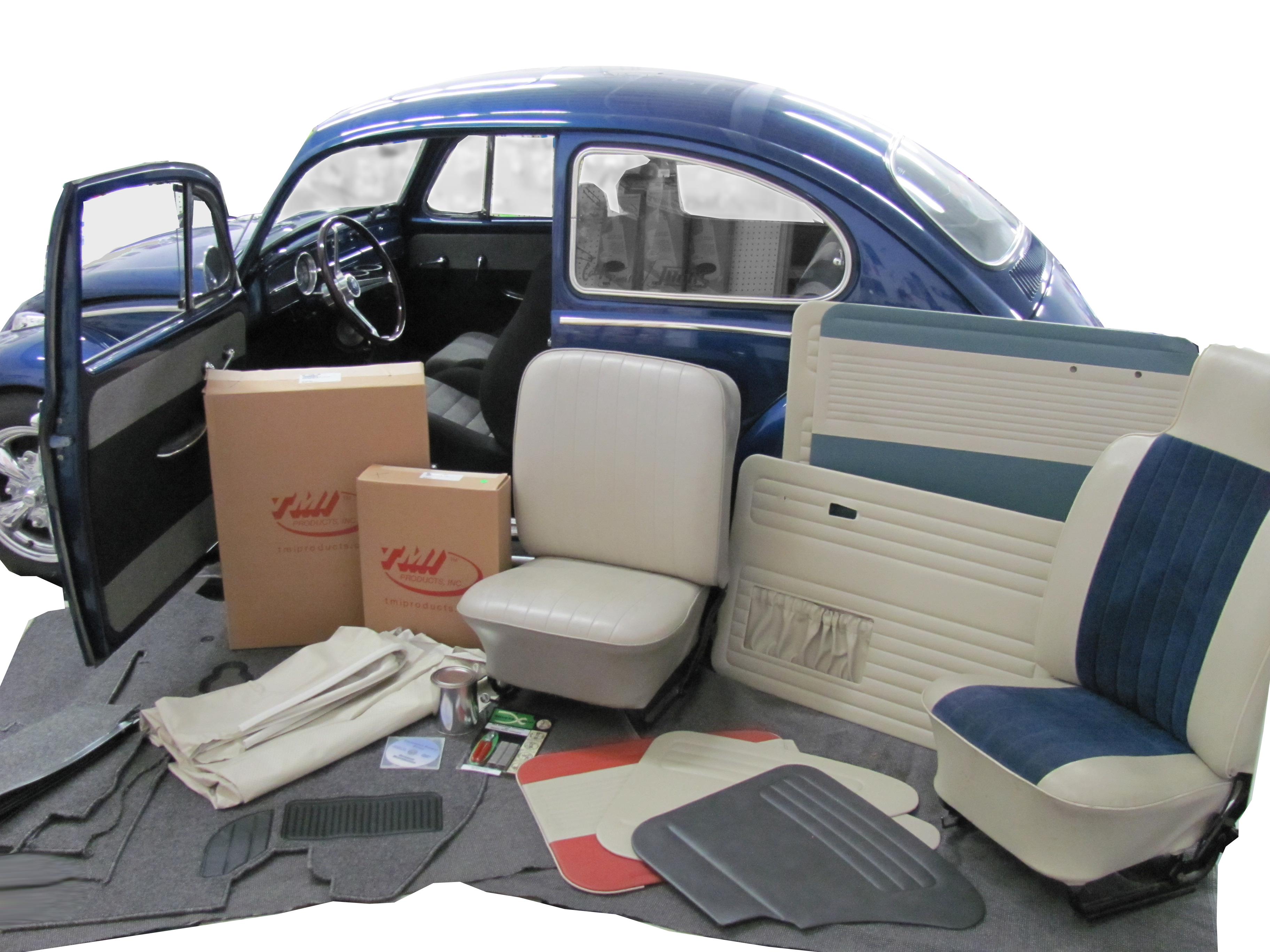 Super Beetle Seat Covers