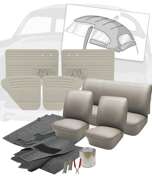 1965 VW Bug Interior Kit Options