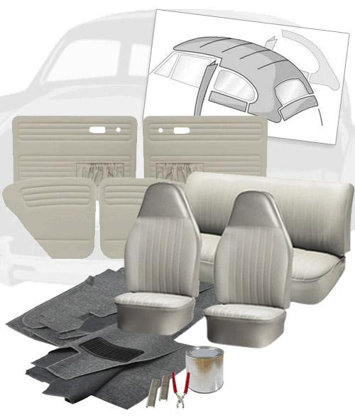 1974 Vw Super Beetle Vw Super Beetle Interior Kits Jbugs