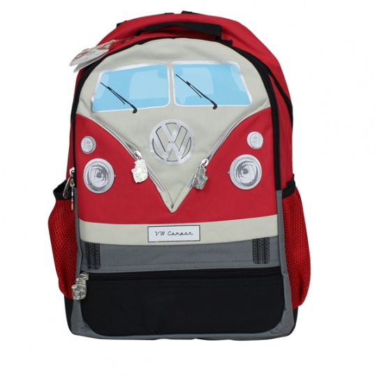 VW Bus Backpack, Red