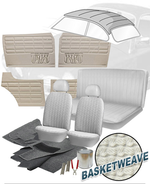 1970 Vw Karmann Ghia Interior Kits Jbugs