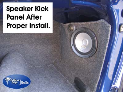 VW Kick Panel Installation