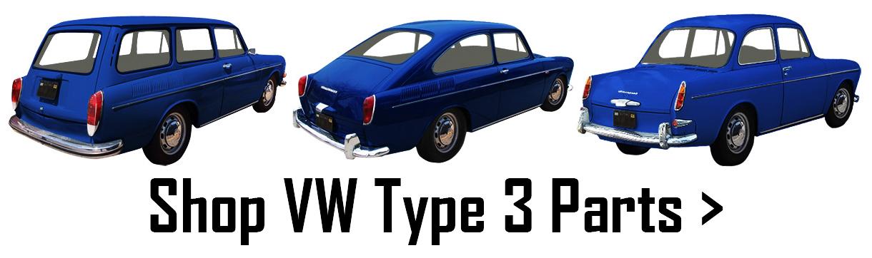 Volkswagen Type 3 Parts | Squareback, Fastback, Notchback
