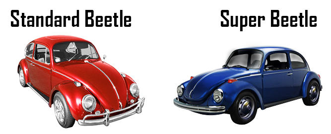 Vw parts jbugs volkswagen super beetle parts difference between standard and super beetle publicscrutiny Image collections