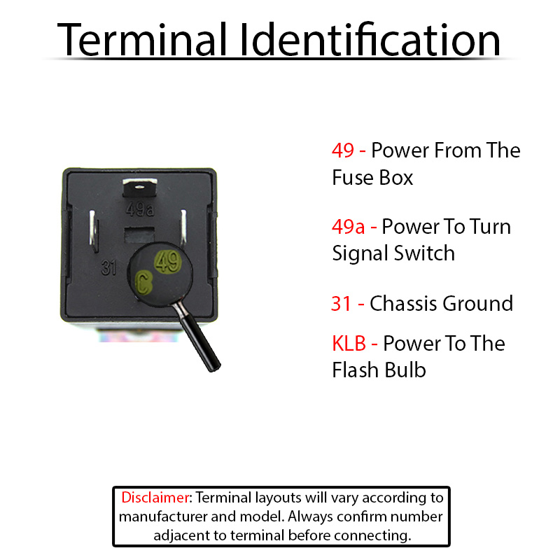 Terminal ID 211953215 vw turn signal switches and relays Universal Turn Signal Wiring Diagram at creativeand.co