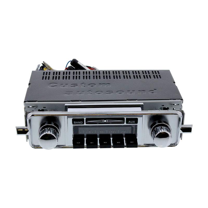 Volkswagen Parts Usa: VW Custom Auto Sound Radio W/ Auxiliary Input, VW Bug 1958