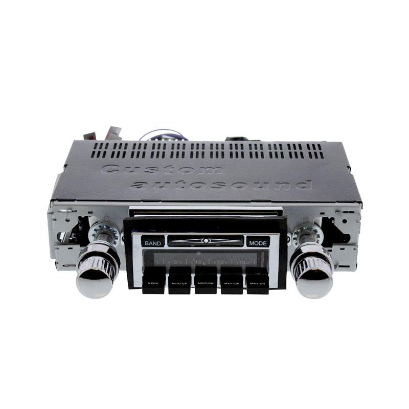 Volkswagen Parts Usa: VW Custom Auto Sound Radio W/ USB And Auxiliary Input, VW