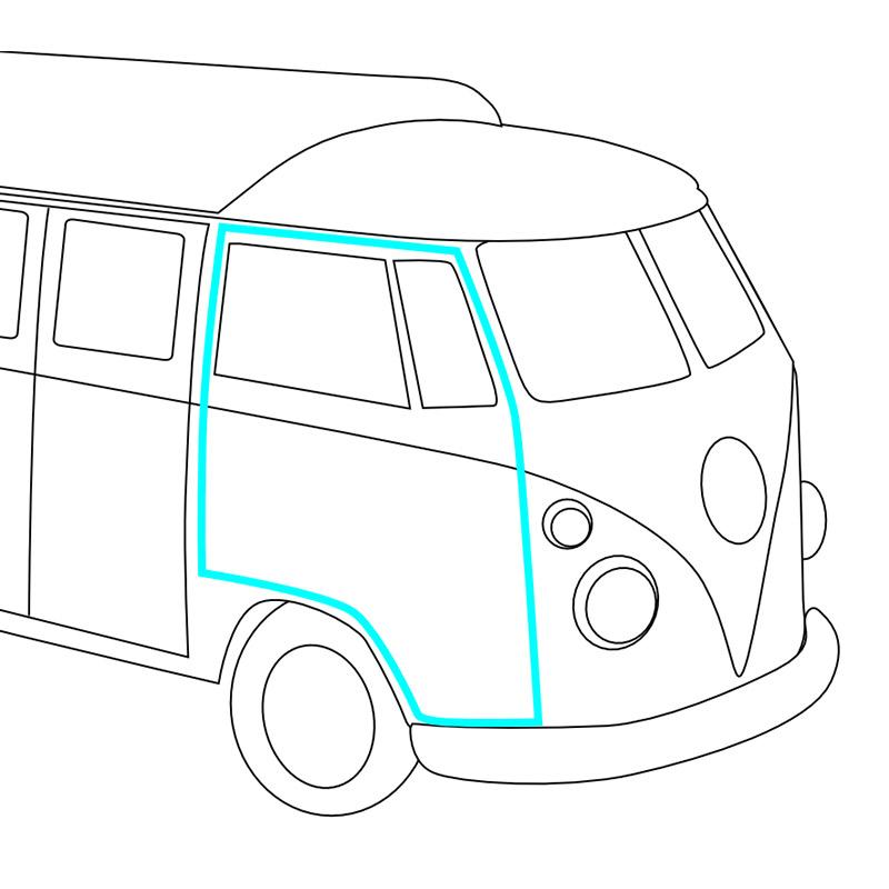 Volkswagen Van Diagram
