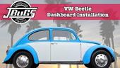 Jbugs VW Beetle instalación del tablero de instrumentos