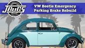 Reconstrucción de frenos de estacionamiento Jbugs VW