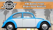 VW Jbugs Beetle Zapata freno delantera reconstruir