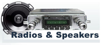 VW Radios & Speakers