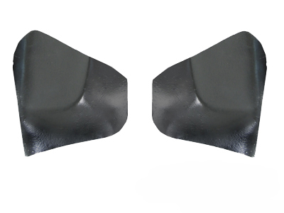 Some modification maybe required. Pair Black Plastic Excluding Super Beetle /& Convertibles! Fits all Standard Beetles EMPI 00-4850-0 VW Speaker Kick Panels