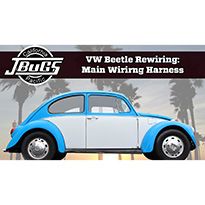 1968-69 Beetle Wiring Harness Installation - Part 1