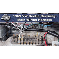 Excellent 1968 69 Beetle Wiring Harness Installation Part 1 Vw Parts Wiring 101 Ivorowellnesstrialsorg