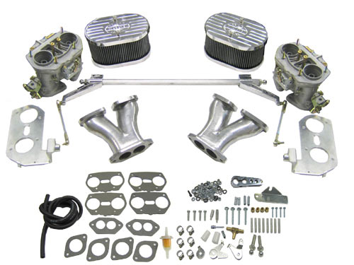 VW Dual Carburetor Kits: VW Parts | JBugs com