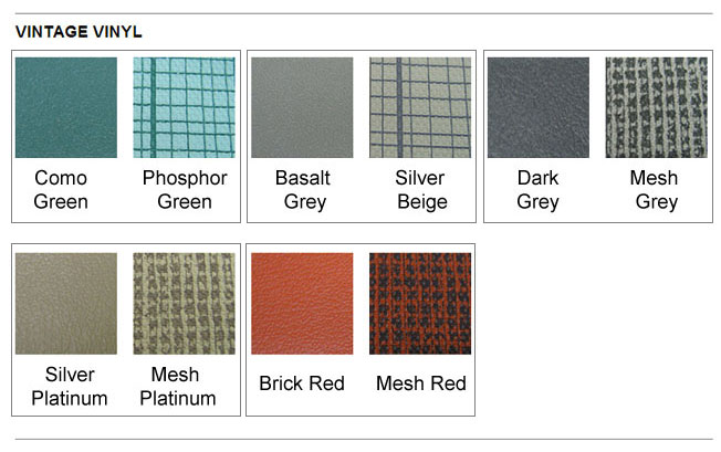 vw seat upholstery full set oem style rollover vintage vinyl  mesh select color bug